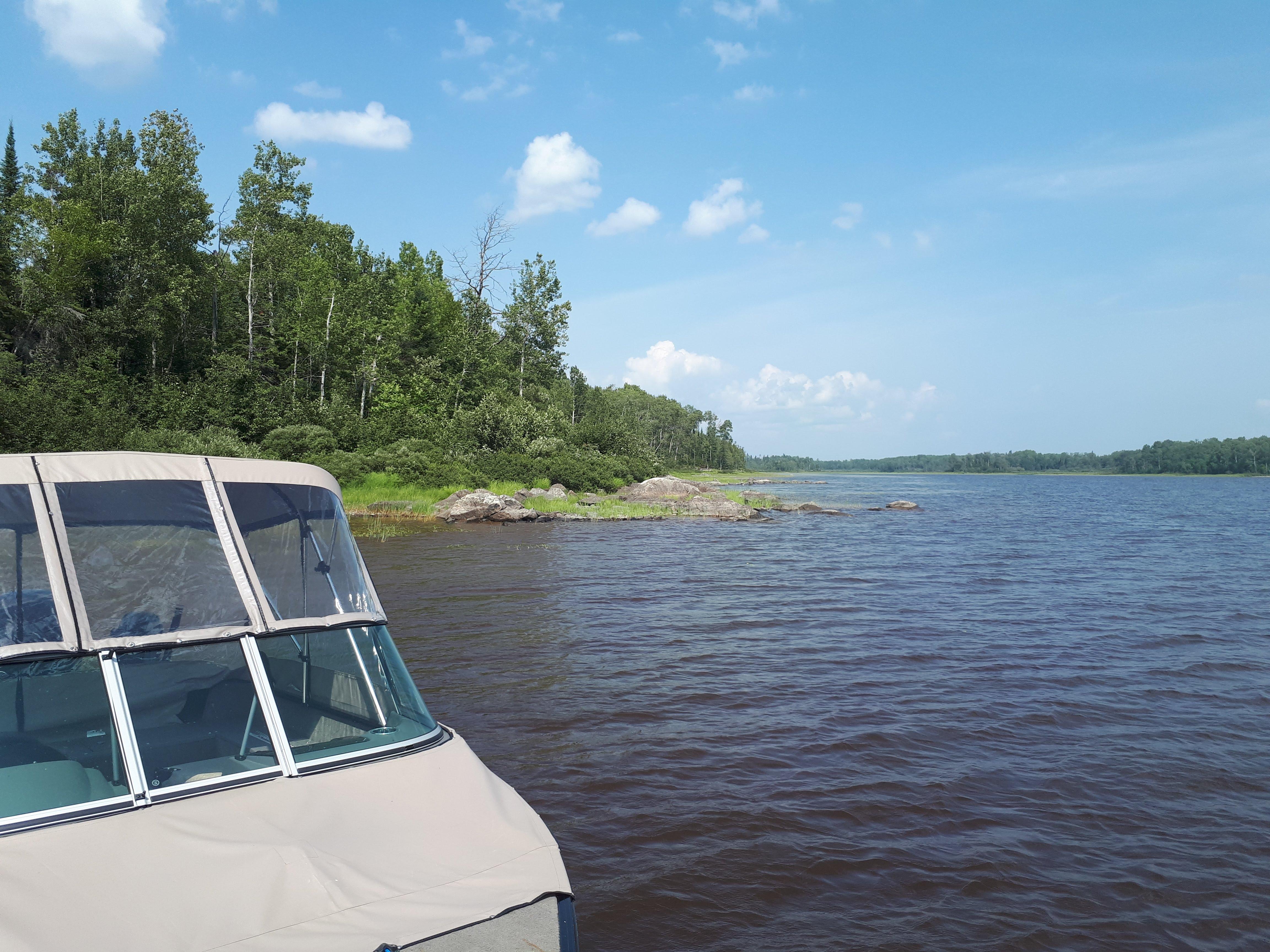 baignade-peche-lac-parent-senneterre-plage-bateau-ponton